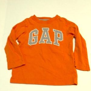 Gap logo long sleeve shirt 2T 5/$25 SALE🤑